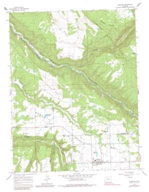 Norwood topo map
