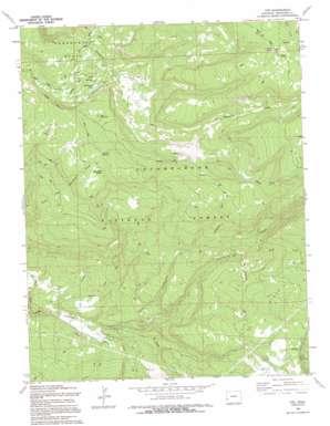 Ute topo map