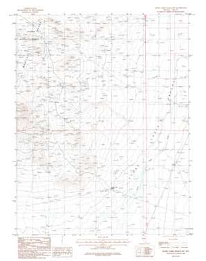 Stone Cabin Ranch Sw topo map
