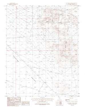 Mckinney Tanks topo map