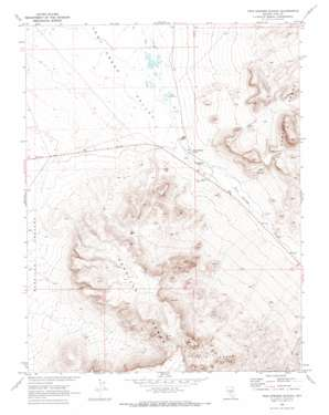 Twin Springs Slough topo map