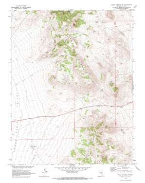 Warm Springs Summit USGS topographic map 38116b4