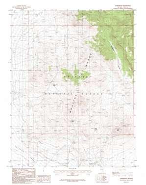 Hannapah topo map