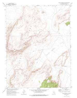 Chuck Wagon Flat topo map