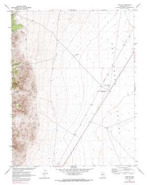 Tybo Well USGS topographic map 38116c3