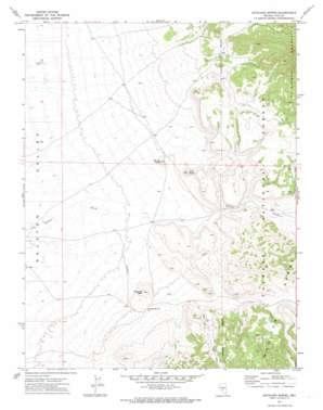 Antelope Spring topo map