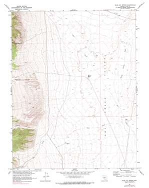 Blue Jay Spring topo map
