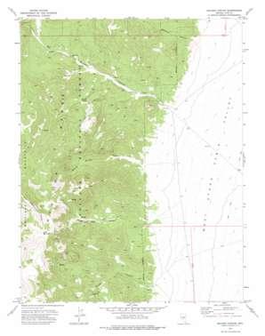 Mccann Canyon topo map