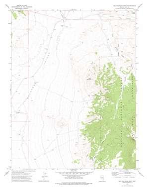Big Ten Peak West topo map