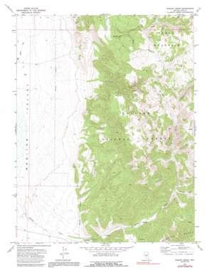 Barley Creek topo map
