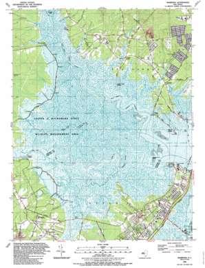 Marmora topo map