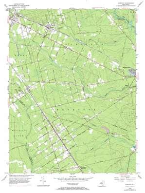 Dorothy topo map