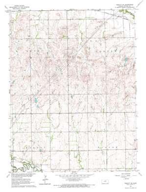 Tescott Se topo map