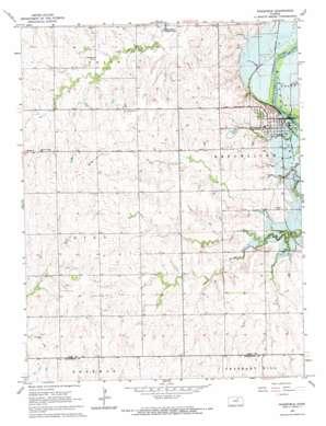Wakefield topo map