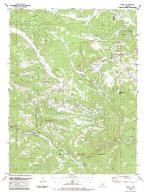Bailey topo map