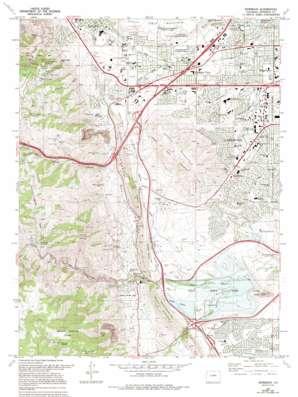 Morrison topo map
