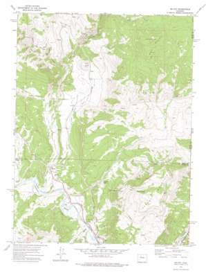 Mccoy topo map