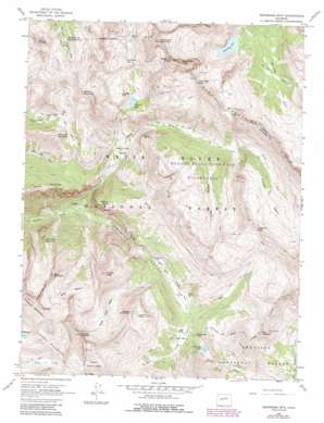 Carbondale USGS topographic map 39107a1