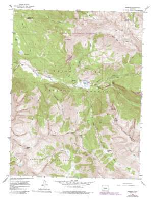 Marble topo map