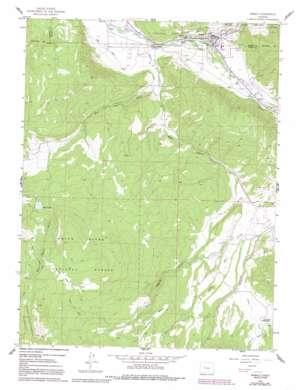 Basalt topo map