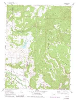 Leon topo map