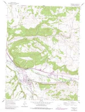 Carbondale topo map