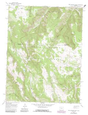 Red Elephant Point topo map
