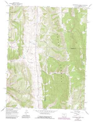 Thirteenmile Creek topo map