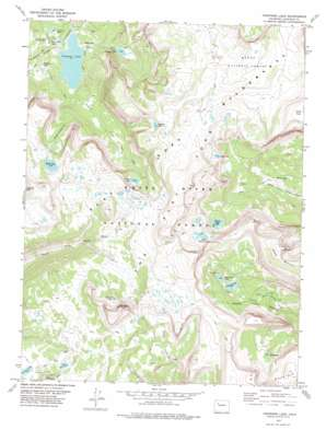 Trappers Lake topo map