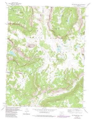 Big Marvine Peak topo map