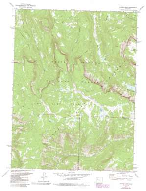 Oyster Lake topo map