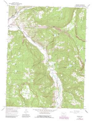 Buford topo map