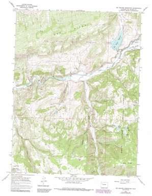 Big Beaver Reservoir topo map