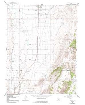 Redmond topo map