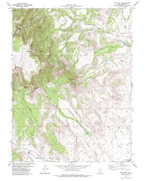 Red Point topo map