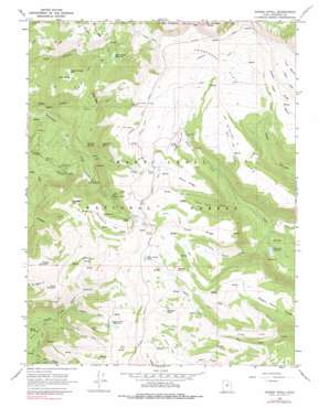 Danish Knoll topo map