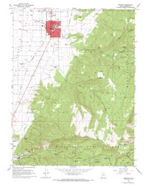 Ephraim topo map