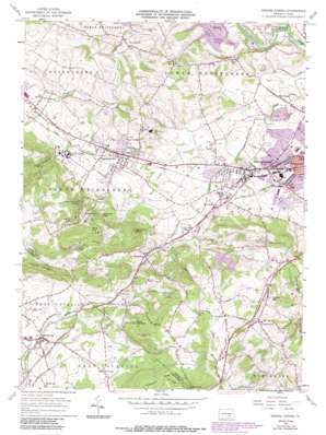 Sinking Spring Topographic Map PA