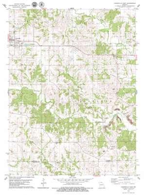 Unionville East topo map