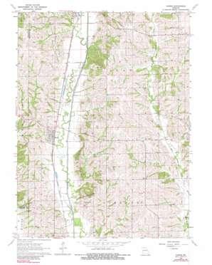 Harris topo map