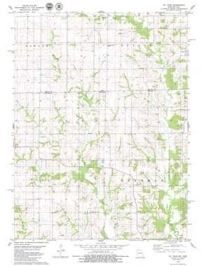 Saint John USGS topographic map 40093e2