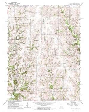 Cleopatra topo map