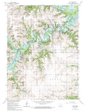 Plano topo map