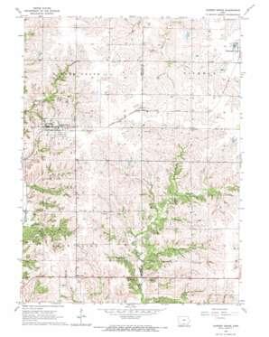 Garden Grove topo map