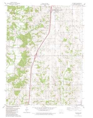 Van Wert USGS topographic map 40093g7