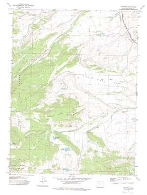 Trapper topo map