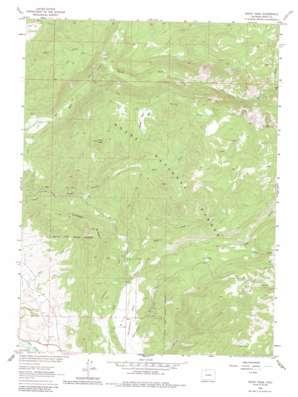 Rocky Peak topo map