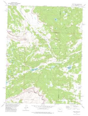Meeker USGS topographic map 40107a1