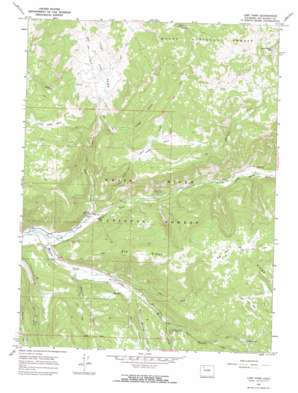 Lost Park USGS topographic map 40107a4