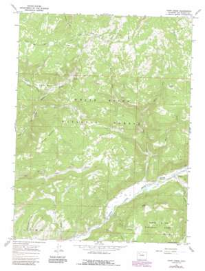 Fawn Creek USGS topographic map 40107a5